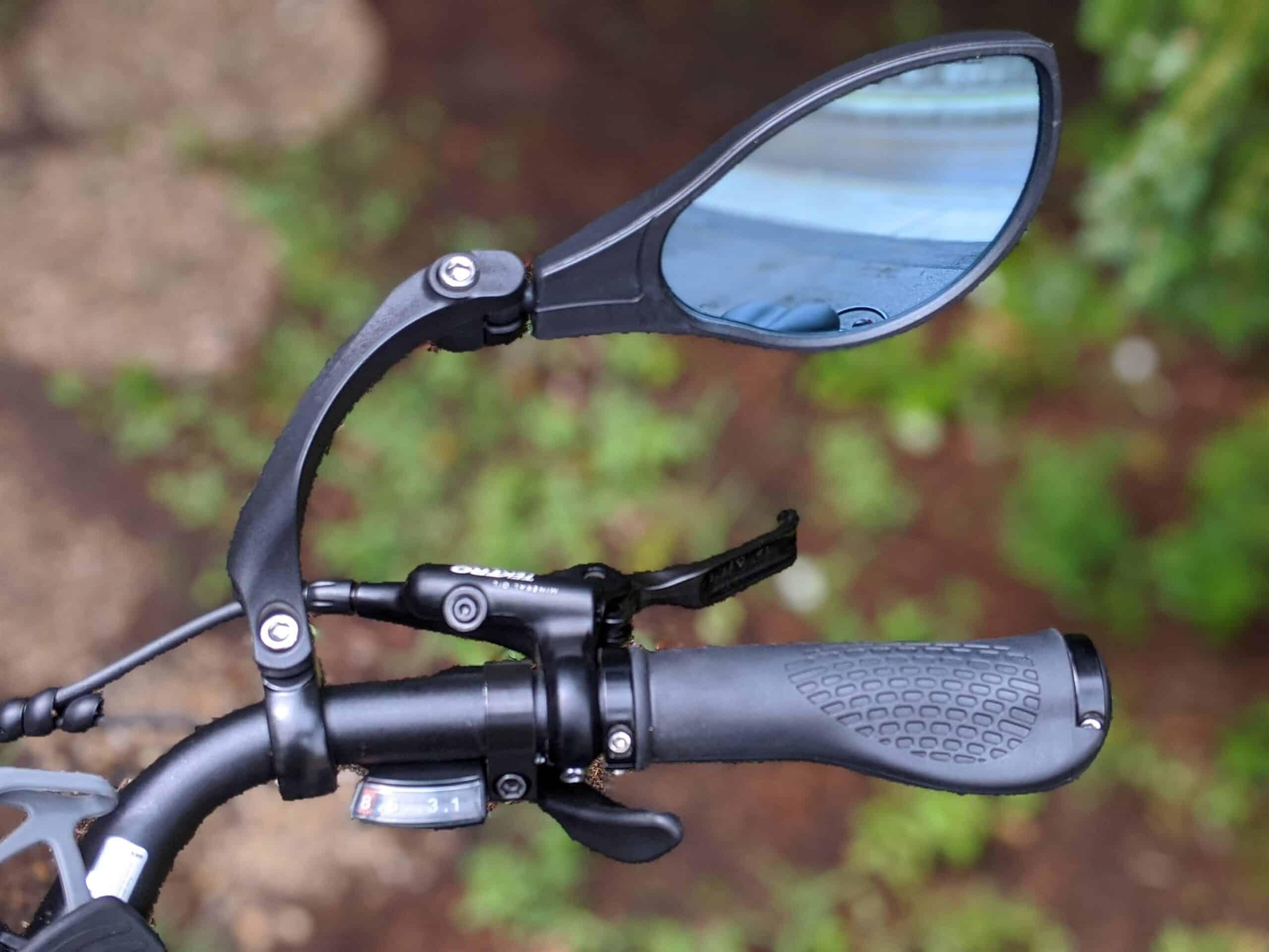 Hafny Handlebar Mirror Anti-Glare Blue Glass