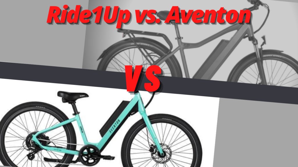 Ride1Up vs Aventon
