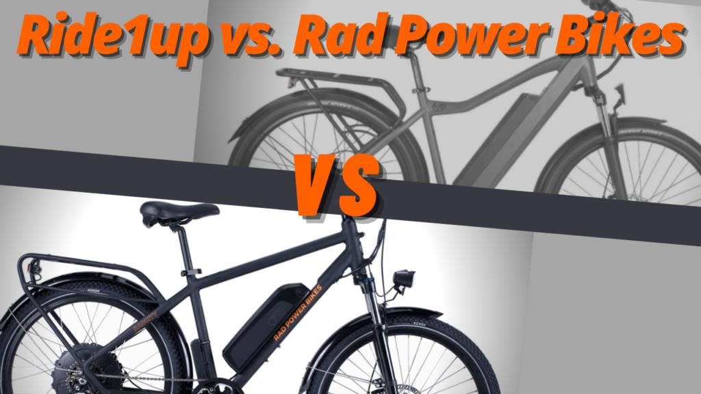 Ride1Up vs Rad Power Bikes