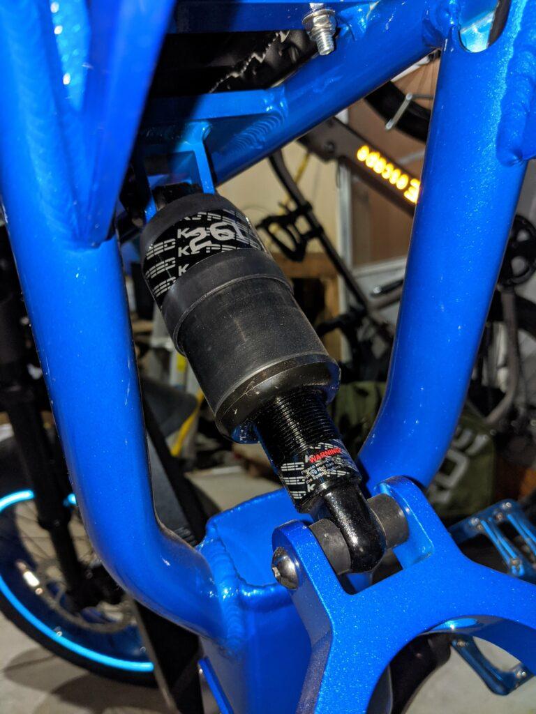 Ariel Rider X-Class rear suspension