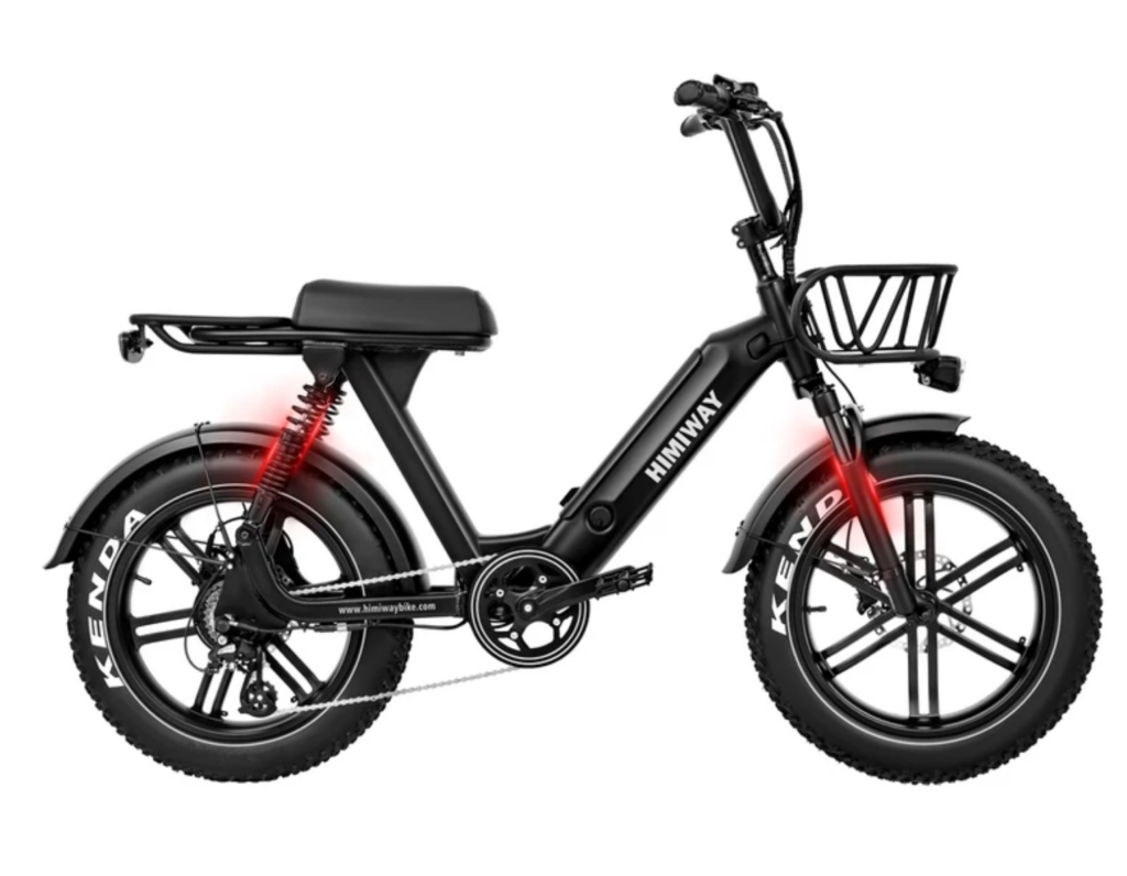 The Himiway Escape moped style electric bicycle