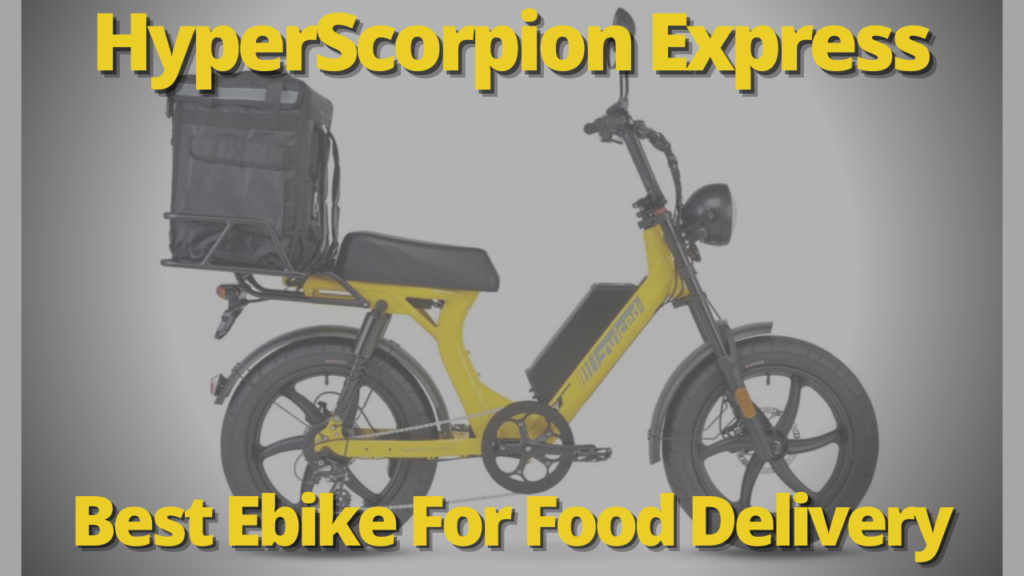Best Ebike Food Delivery
