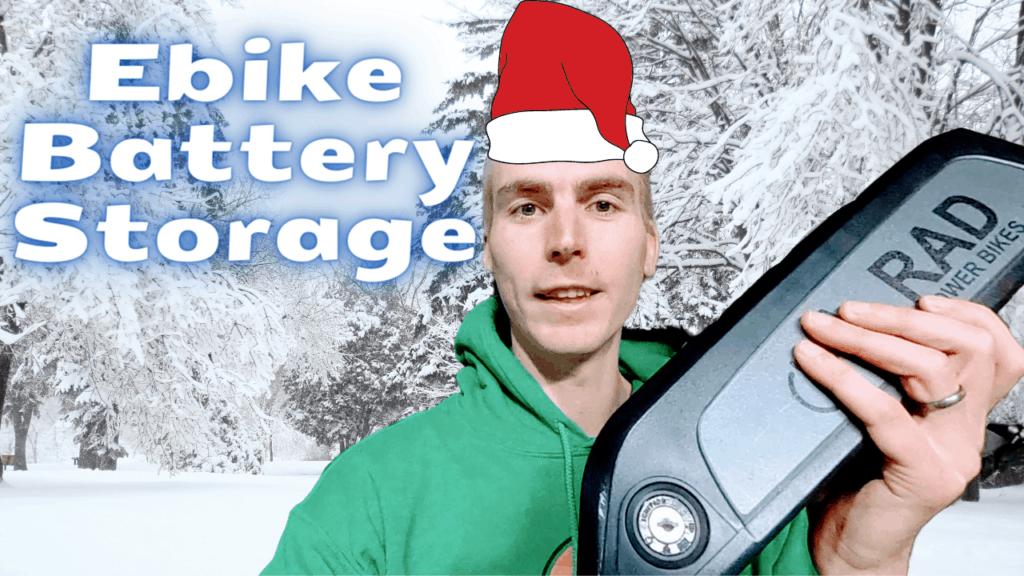 Ebike Battery Winter Storage