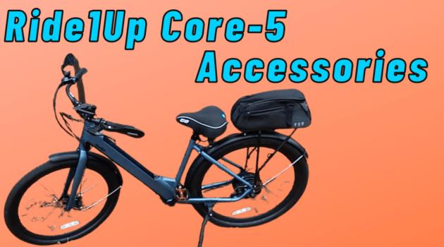 Ride1Up Core-5 Accessories