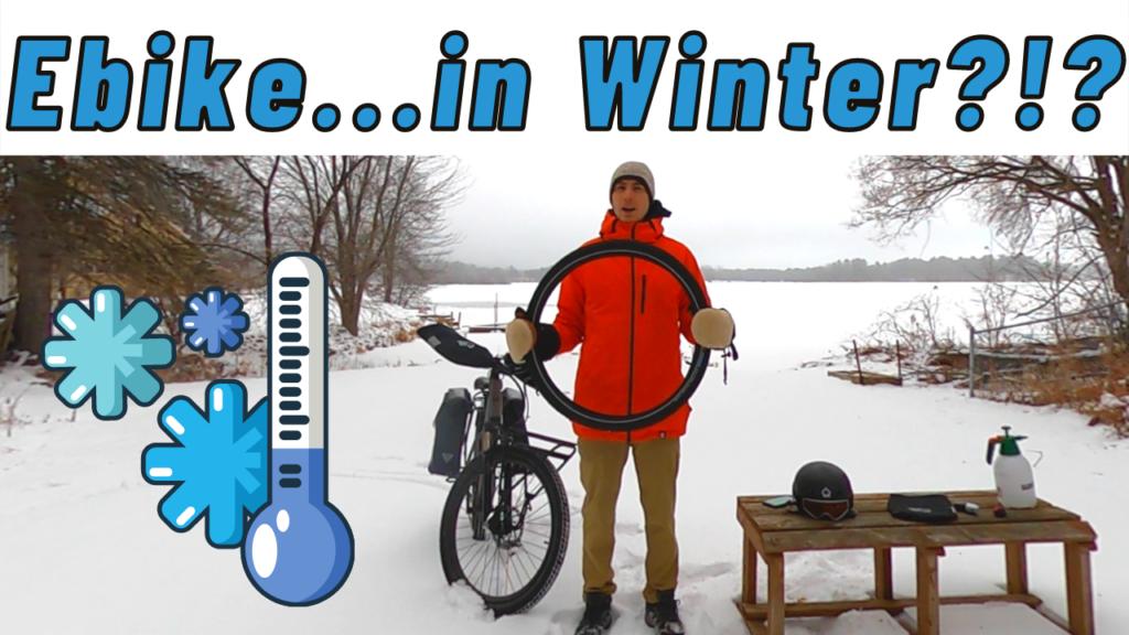 Winter Ebike Tips