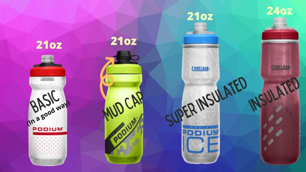 CamelBak Podium Bottles Compared