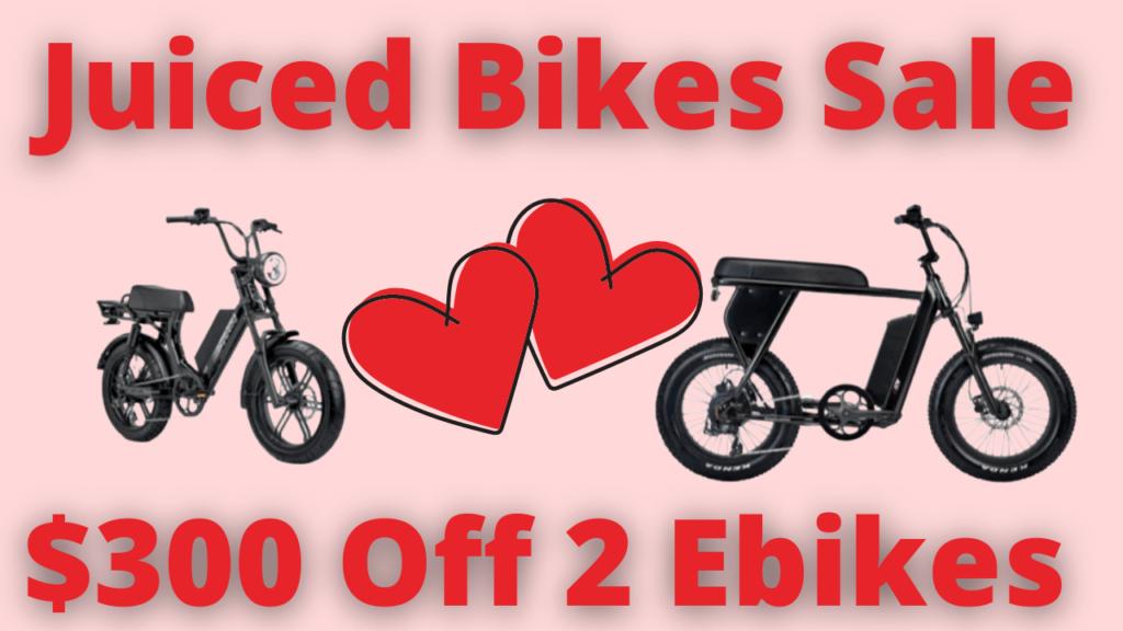 Juiced Bikes Sale