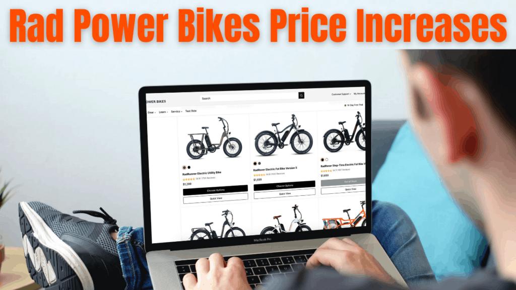 Rad Power Bikes Prices March 2021