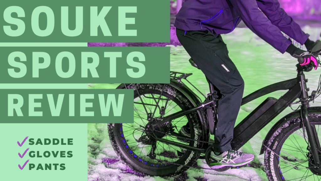 Souke Sports Review: Saddle, Gloves, Pants