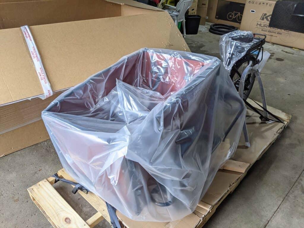 Bunch Bikes cargo bike assembly