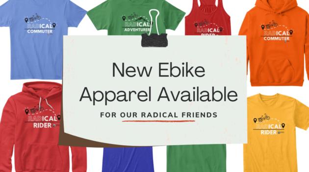 New Ebike Apparel