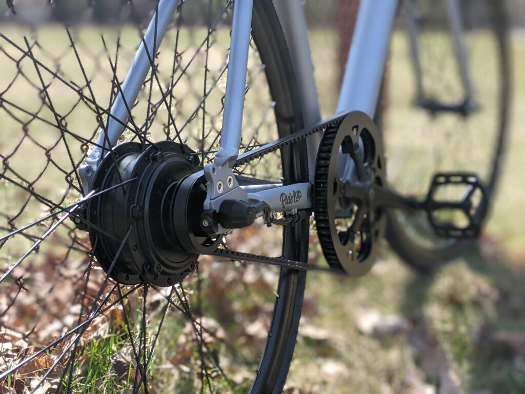 Ride1Up Roadster V2 Review drivetrain