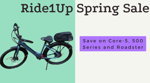 Ride1Up Spring Sale