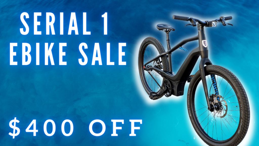 Serial 1 electric bikes on sale