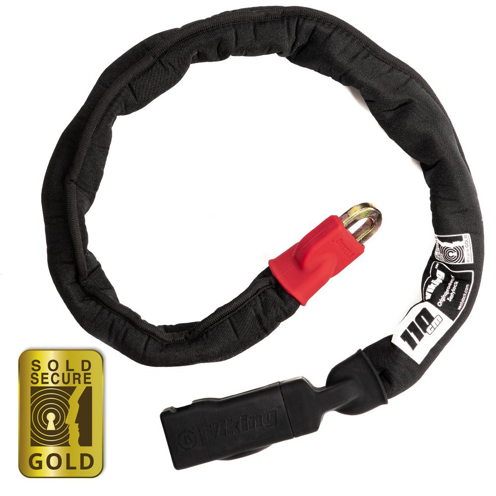 The Viking Chain Lock is GOLD Sold Secure Rated