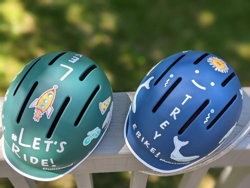 Thousand Jr. Helmet Stickers