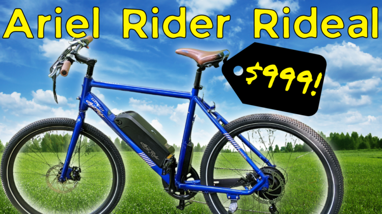 Ariel Rider Rideal Review
