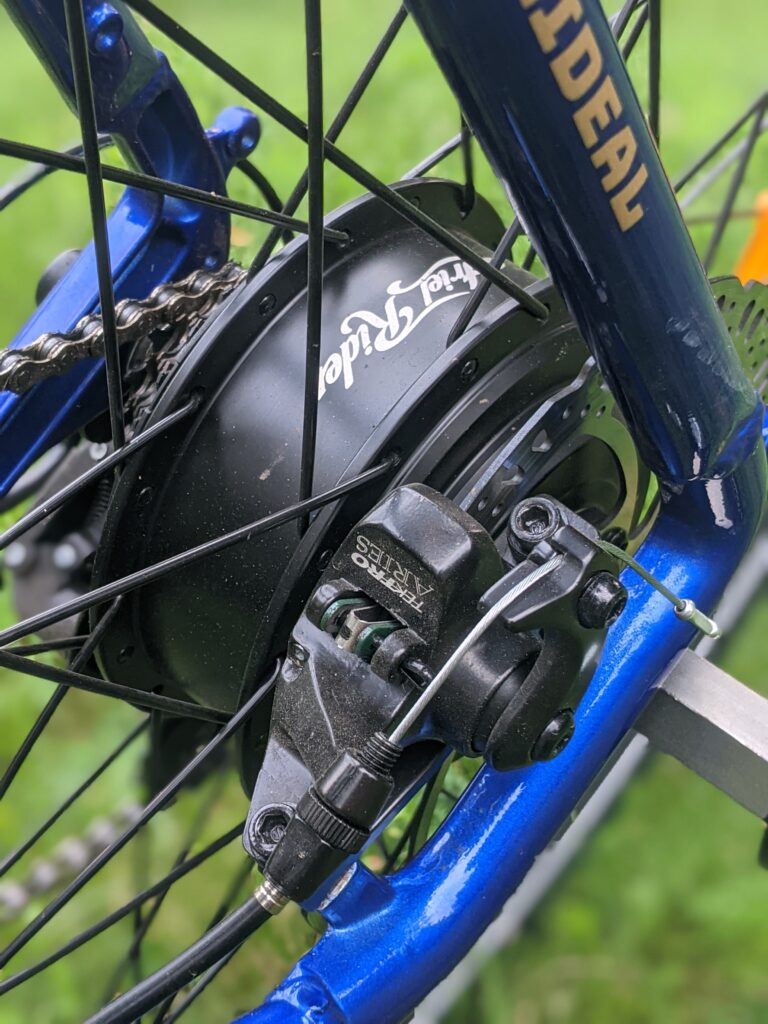 Ariel Rider Rideal disc brakes